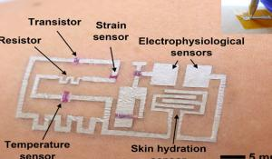 'Drawn-on-Skin' Electronics