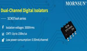 SCM37xxA - Dual Channel Digital Isolator IC
