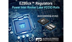AOZ2263VQI-01 and AOZ2263VQI-02 Application-Specific EZBuck Regulators