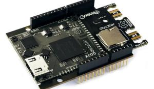 Gameduino 3X Dazzler Arduino Shield by Excamera Labs