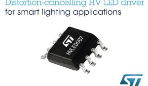 Distortion-Cancelling High-Voltage LED Driver for Energy-Saving Lighting