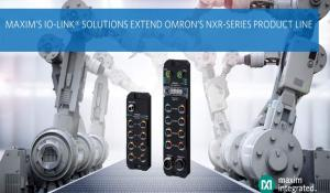 Omron extends NXR-Series IO-Link