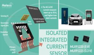 Isolated Integrated Current Sensors from Melexis