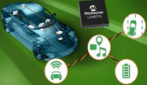 LAN8770 OPEN Alliance TC10 Sleep Standard Ethernet Physical Layer Transceiver