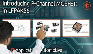 LFPAK56 P-Channel MOSFET