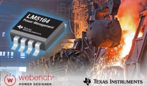 New 100V, 1A synchronous buck converter extends battery life in rugged applications