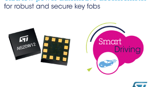 Robust, Low-Power Automotive Accelerometer Adds Durability to Secure Remote Key Fobs