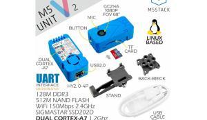 M5Stack UnitV2 Standalone AI Camera Module