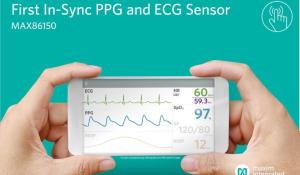 Integrated PPG and ECG Biosensor Module for Mobile Devices