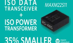Isolated RS-485 Module Transceiver with Power for Industry 4.0