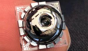 Birdbath Resonating Gyro MEMS Gyroscope