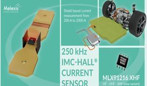 MLX91216 XHF IMC-Hall Current Sensor IC