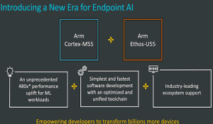 Arm Cortex-M55 processor and Arm Ethos- U55 NPU
