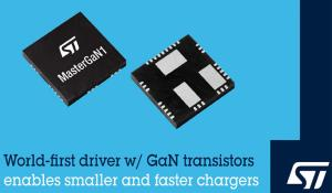 MasterGaN1 Driver with GaN Technology