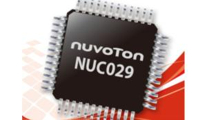 New Arm Cortex M0 MCU NUC029 Series by Nuvoton for Industrial Control Applications