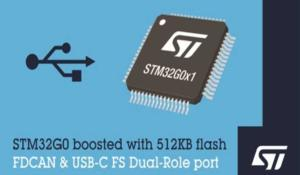 New STM32G0 Microcontrollers