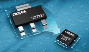 New Tansistors with Smaller Form Factor(3.3mm X 3.3mm) with Increased Power Density