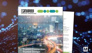 New eBook from Mouser and Phoenix Contact  Highlights Secure Connections in Industrial IoT