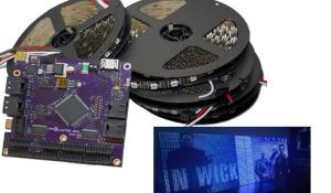 Pixblasters MS1 – RGD LED Controller for LED Video Displays