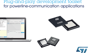 Powerline Communication Development Toolset from STMicroelectronics Extends Access to Field-Proven G3-PLC Chipset
