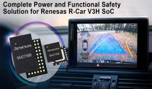 Renesas's R-Car V3H Power Solution