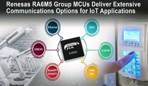 Renesas RA6M5 Group Microcontrollers