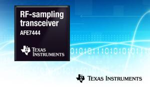 Integrated quad and dual-channel RF-sampling transceivers enable multiantenna wideband systems