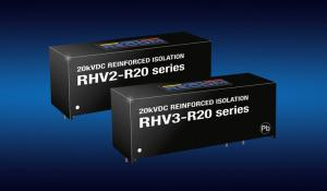RHV2 and RHV3 Unregulated DC/DC Converters