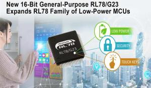 RL78/G23 Microcontrollers