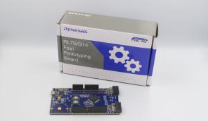 RL78 Prototyping Board for Low Power IoT Endpoint Equipment Applications