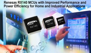 RX140 Microcontrollers from Renesas Electronics