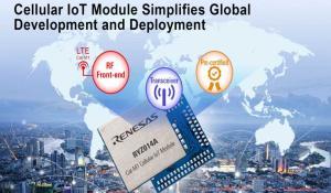 RYZ014A All-in-One Single-Mode LTE Category M1 Module