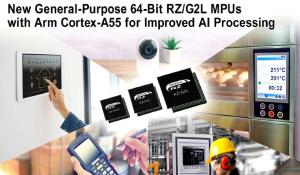 General-Purpose 64-bit RZ/G2L Microprocessors
