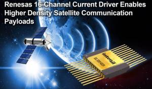 Radiation-Hardened 16-Channel Current Driver with Integrated Decoder for Satellite Applications