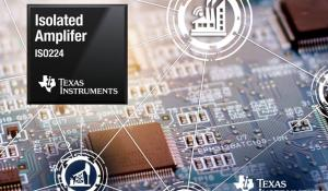 Reinforced isolated amplifier ISO224 for industrial voltage-sensing applications
