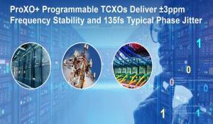 Renesas ProXO+ Programmable TCXOs