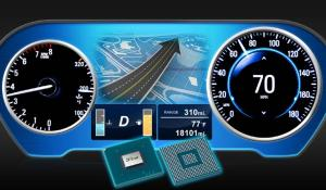 Renesas R-Car E3 SoC for High-End 3D Graphics in Large Scale Display Instrument Clusters
