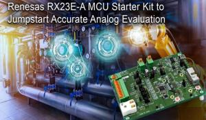 32-bit RX23EA Renesas Solution Starter Kit