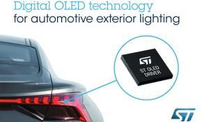 Digital OLED Technology for Automotive Exterior Lighting
