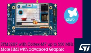 STM32H7 Cortex-M7 Microcontroller by STMicroelectronics