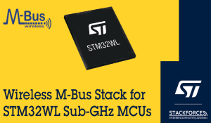 STM32WL Wireless Microcontroller with wM-Bus Software Stack