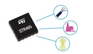 STR485LV 3.3V transceiver for RS485 applications