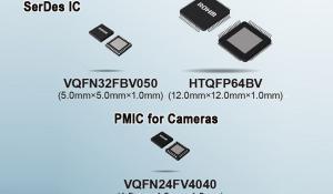 SerDes BU18xMxx-C IC and BD86852MUF-C PMIC