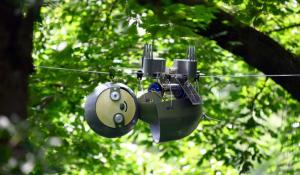 SlothBot Solar Powered Hyper Efficient Robot