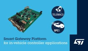 STMicroelectronics' new Smart Gateway Platform (SGP)