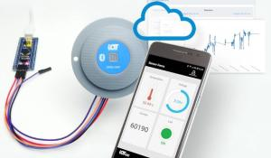 IoTize TapNLink for Instant NFC and Bluetooth Communication