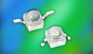 Compact Blue and True Green Ultrabright LEDs with Dome Lenses featuring Latest InGaN/Sapphire Technology
