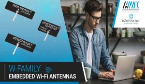 Ultra Miniature W Series Embedded Wi-Fi Antennas