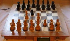 Raspberry Computer Chess Board