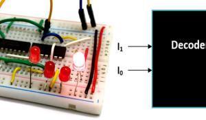 Binary Decoder Circuit
